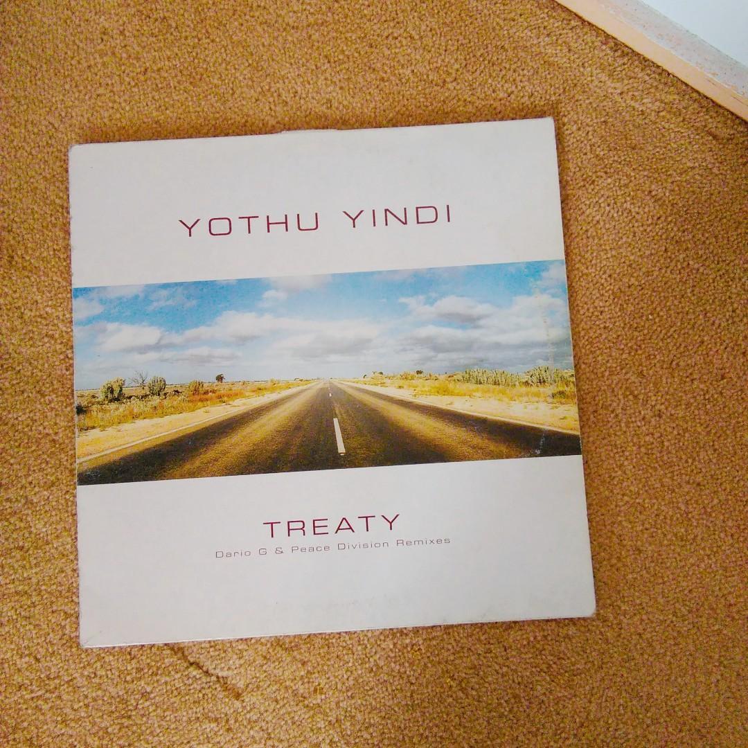 Vinyl record Treaty Dario G & Peace Division Remixes
