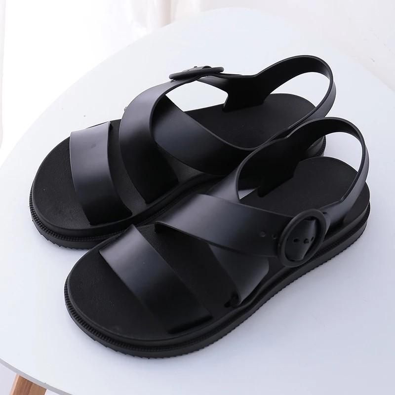 Women Shoes Gladiator Open Toe Buckle Soft Jelly Sandals