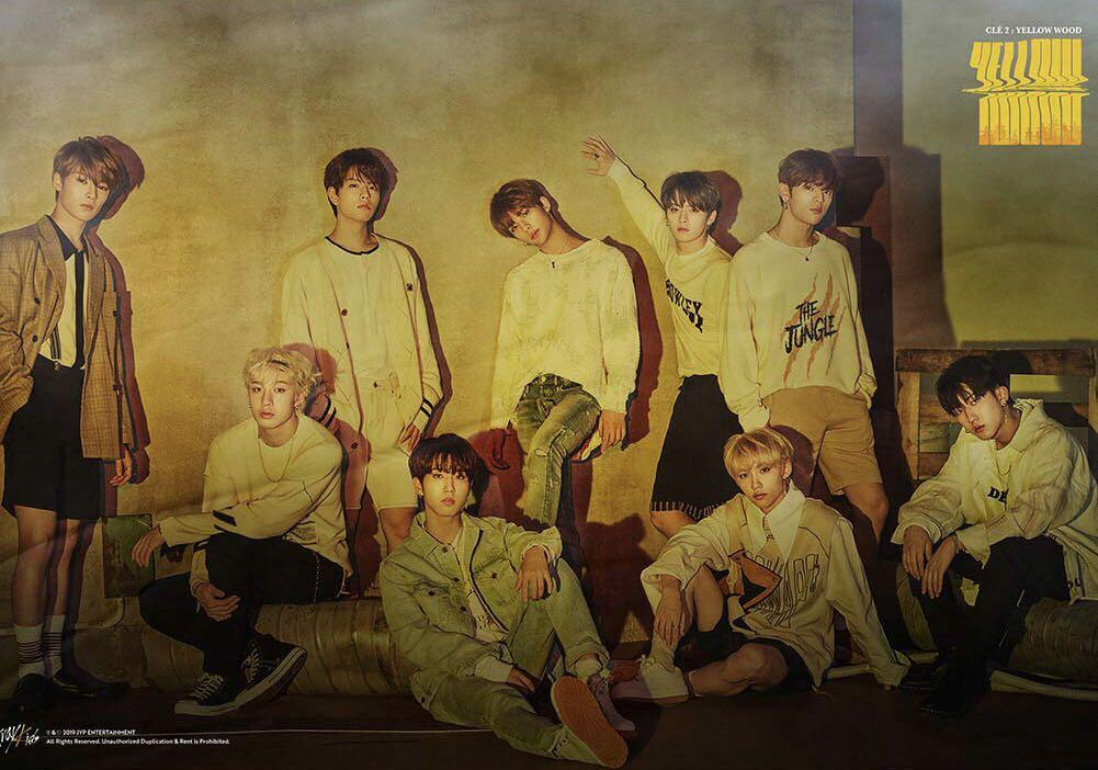 Clearance Stray Kids Official Posters Sale