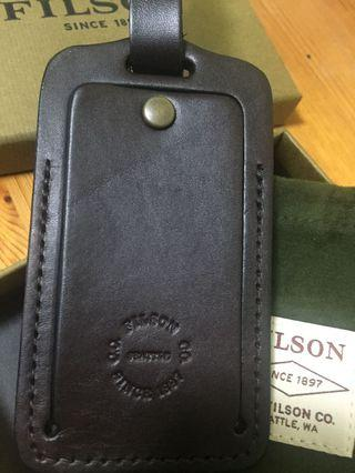 BRIDLE LEATHER LUGGAGE TAG