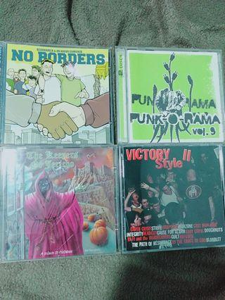 Hardcore Punk Metal Compilations CDs lots