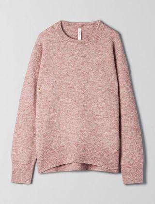 Aritzia The Group by Babaton Thurlow Sweater - Heather Dune Dust - Size S