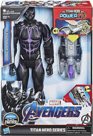Marvel Avengers: Endgame Titan Hero Power FX Black Panther