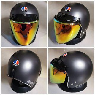 Sgv Jipang Helmet (Silver Lining)