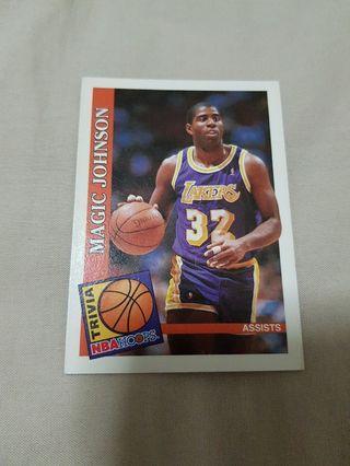 Magic Johnson - NBA Hoops