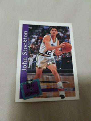 John Stockton- NBA Hoops