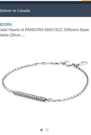 Hearts of Pandora Bracelet