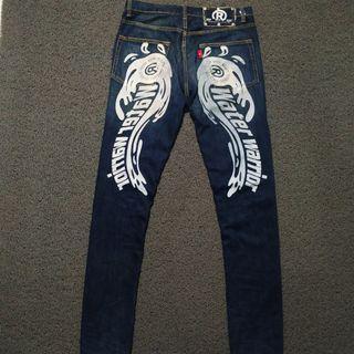 Celana Jeans real B voice nt sukajan evisu true religion