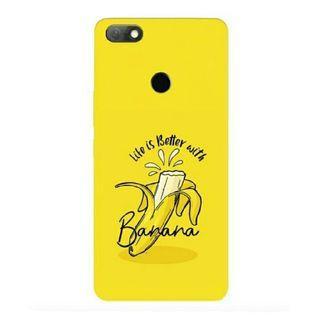 Banana Stylish Infinix Note 5 Custom Hard Case