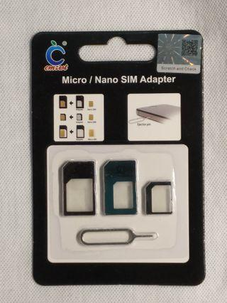 Nano Sim Adapter 4 合 1 卡套
