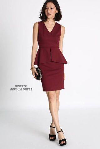 Dinette Peplum Dress
