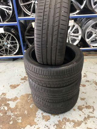 225/40/18 Used Tyre