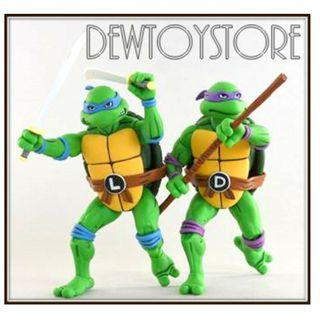 """⭐️<URGENT> [Pre-order] NECA Teenage Mutant Ninja Turtles TMNT 7"""" scale Cartoon Series 2 - Leonardo & Donatello 2-Pack ⭐️"""