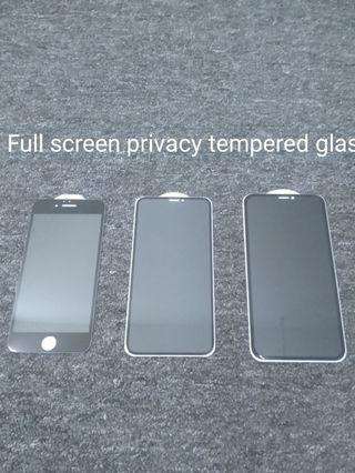 IPhone full screen tempered glass
