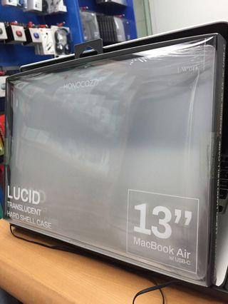 cover case kesing laptop macbook air 2018 usb type c