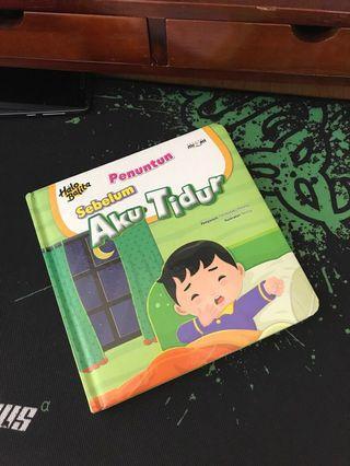 LIKE NEW Buku Cerita anak halaman tebal full color #bagibagi