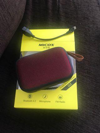 Micox Portable Bluetooth Speaker