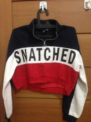 Sweater Crop snatched h&m Original