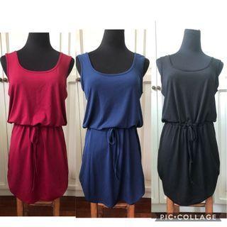 Breezy Drawstring Dress