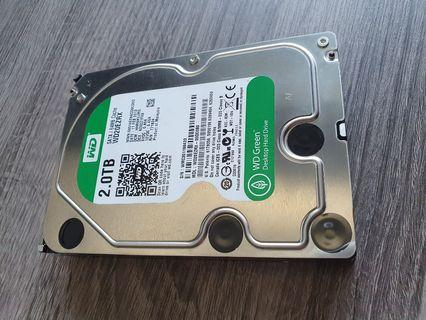 WD 2TB Green HDD