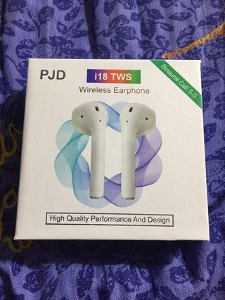 i18tws wireless earphone