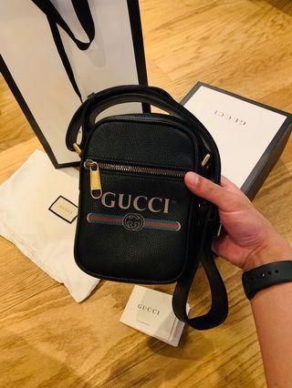 Gucci 574803 mini航空包 日字包 小斜包塗鴉 8.8新