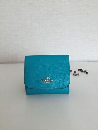 COACH 53716 SMALL WALLET IN CROSSGRAIN LEATHER