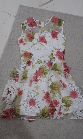 Flower Dress 3D