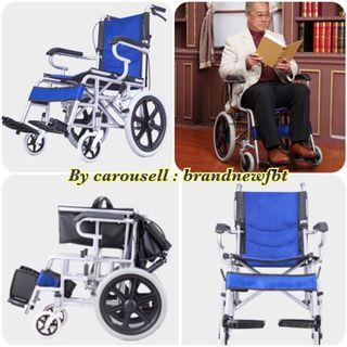 Wheelchair lightweight foldable wheelchair