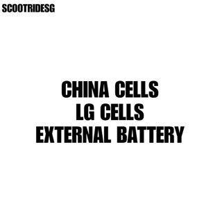 LG / China Cells External Battery