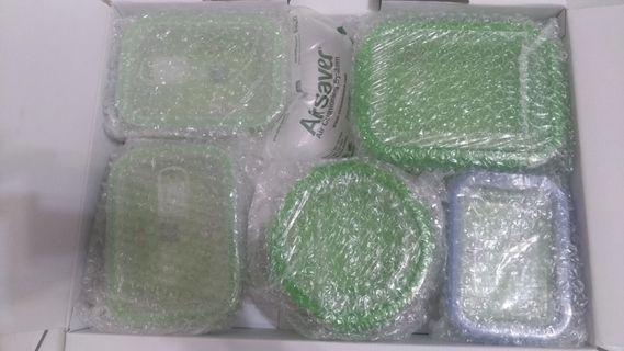 全新 康寧保鮮盒五件套 可拆賣