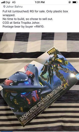Gundam Astray Gold Frame Amatsu Mina  (full kit)