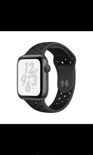 Apple Watch Nike+ 太空灰色鋁金屬錶殼搭Anthracite配黑色 Nike 運動型錶帶40mm GPS