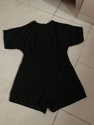 Black Jumpsuit velvet