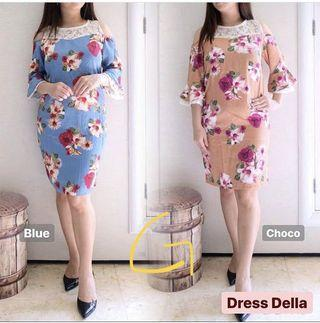 Floral Dress casual auntie outfit
