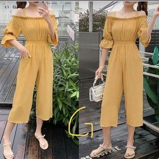 Side off jumpsuit style lady BN