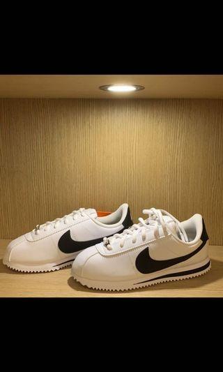僅室內試穿 Nike Cortez Basic SL 女鞋 阿甘鞋 黑白 韓國 百搭 好看