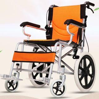 WHEELCHAIR- LIGHT WEIGHT, FOLDABLE AND COMPACT TYPE