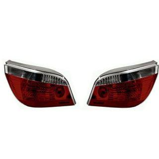 BMW E60 Black Tail Lights Set