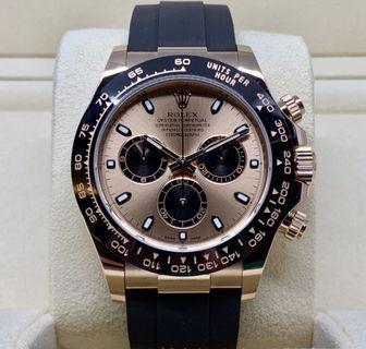 BNIB Rolex Daytona 116515LN Pink