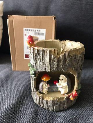 Terrarium plant pot