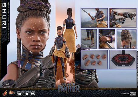 hot toys black panther shuri