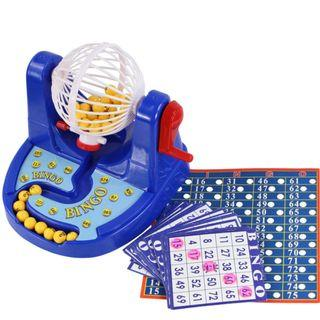 Bingo Game with number balls