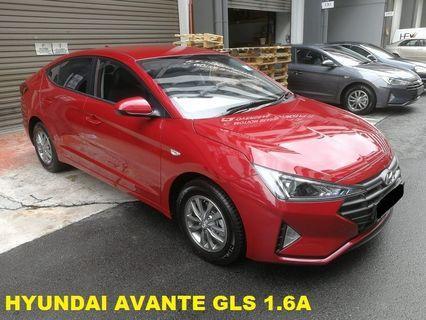 Hyundai AVANTE 1.6GLS (RED)