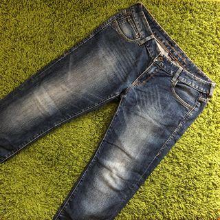 Levis 刷色牛仔褲