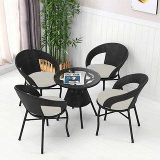 BN Coffee Table Chair set 510 Black