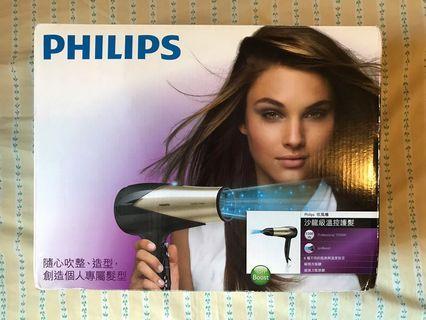 PHILIPS沙龍溫控護髮吹風機