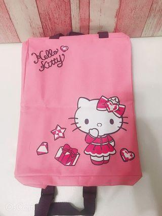 Hello kitty 下午茶具組+後背包