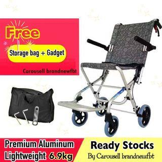 Ultra lightweight wheelchair travel foldable wheelchair
