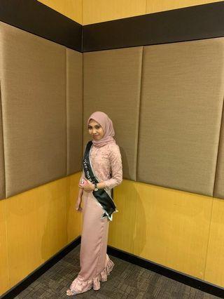 Dress hijab / dress kebaya